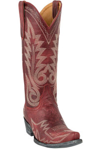 Old Gringo Women's Red Nevada Boots - Hero