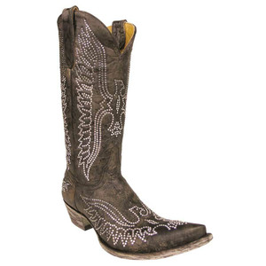 Old Gringo Women's Brown Eagle Swarovski Crystal Boots