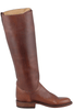 Lucchese Women's Chocolate Lieutenant Boots - Side 1