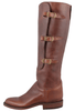 Lucchese Women's Chocolate Lieutenant Boots - Side 2