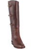 Lucchese Women's Chocolate Lieutenant Boots - Hero