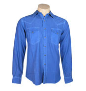 Ryan Michael - Silk and Cotton Double Needle Western Shirt