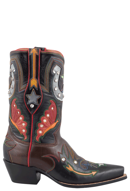 Rocketbuster Women S Claire Shortie Boots Pinto Ranch