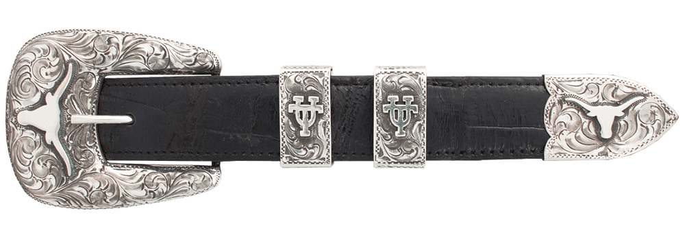 "University of Texas Bevo 1"" Buckle Set"