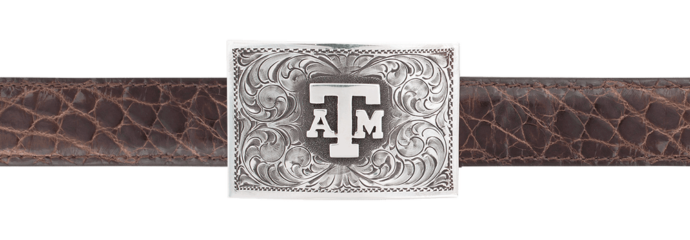 "Texas A&M University 1"" Trophy Buckle"