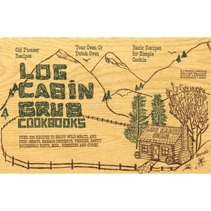 "Cookbook ""Log Cabin Grub"""