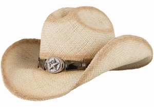 Bullhide Star Central Straw Hat - Hero