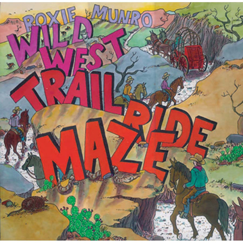"Children's Book ""Wild West Trail Ride Maze"""
