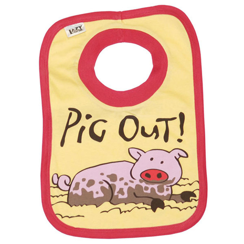 "Bib - Girls ""Pig Out"""