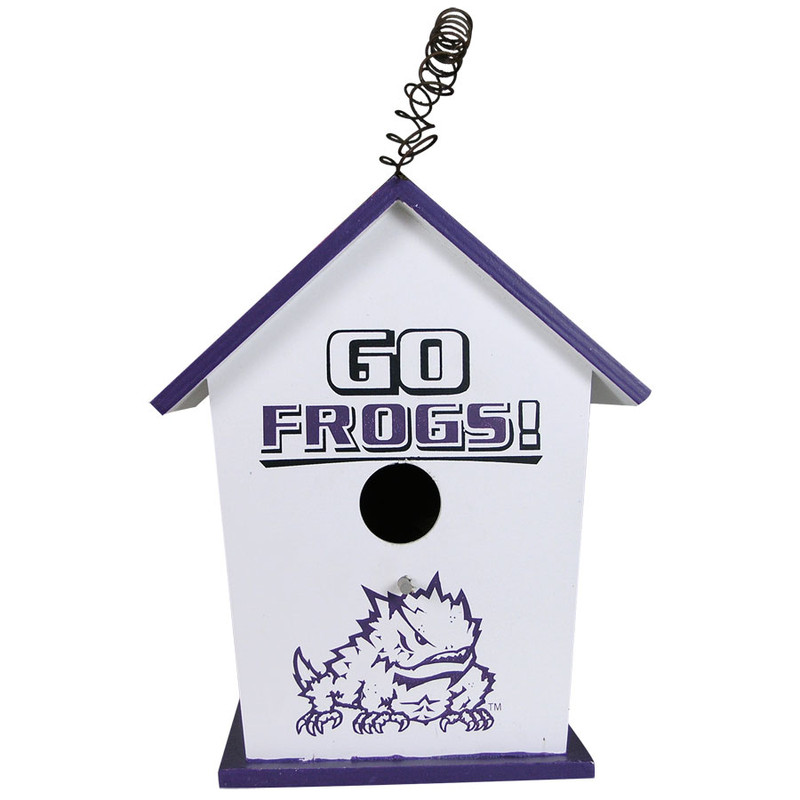 University - Texas Christian University Birdhouse - Side 1