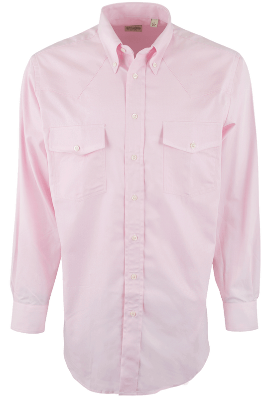 Gitman Bros. Pink Button-Down Dress Shirt - Front