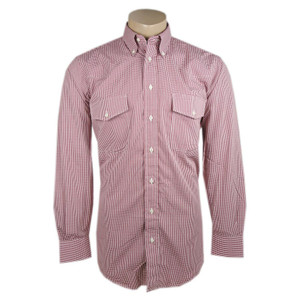 Gitman Bros. Red Check Shirt