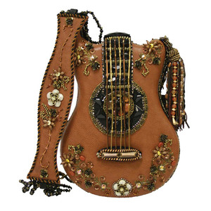 Mary Frances Hall of Fame Guitar Handbag - Front