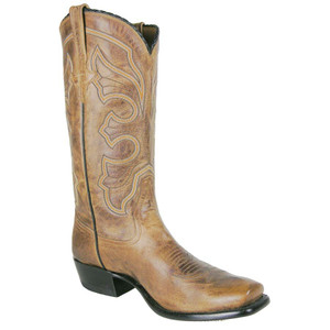 Rios of Mercedes Men's Tan Burnished Goat Boots - Hero