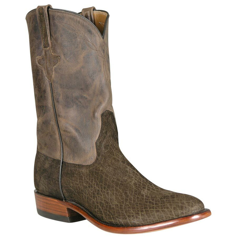 Rios Of Mercedes Mens Chocolate Hippo Roper Boots Pinto