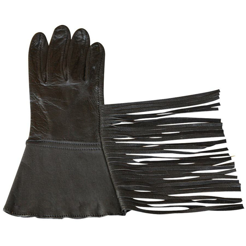 Fringed Gauntlet Gloves