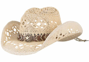 Bullhide Naughty Girl Straw Hat - Hero
