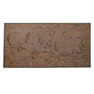 Decor - Metal Mustang Wall Panel