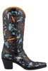 Liberty Boot Co. Women's Monarch Butterfly Boots - Side