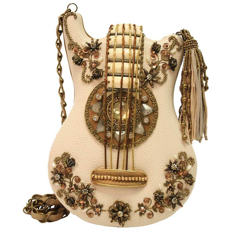 Mary Frances Strike A Cord Guitar Handbag - Front