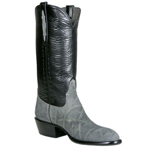Stallion Mens Elephant Boots - Grey