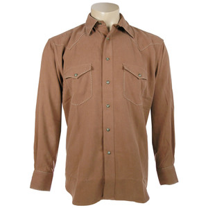 Fonte Snap Shirt with Stitching - Autumn