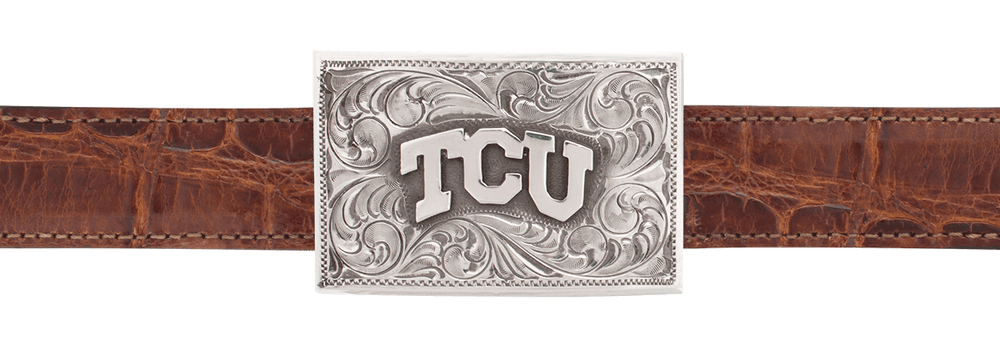 "Texas Christian University 1"" Trophy Buckle"