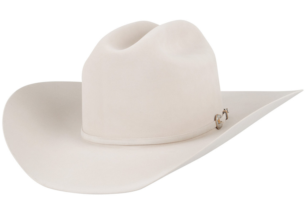 American Hat Co. 500X Pure Beaver Felt Hat - Silver Belly - Hero