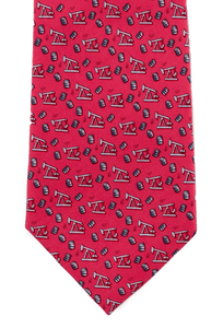 Paris Texas Apparel Co. Thirsty Birds Tie - Red