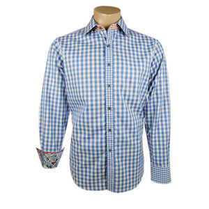 "Robert Graham ""Bugspray"" Shirt - Blue"