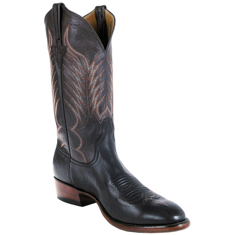 Rios Of Mercedes Mens Remuda Boots Chocolate Pinto Ranch