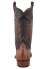 Rios of Mercedes Men's Chestnut and Black Remuda Boots - Back
