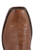 Rios of Mercedes Men's Chestnut and Black Remuda Boots - Toe
