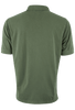 True Grit Short Sleeve Jersey Polo - Army - Back