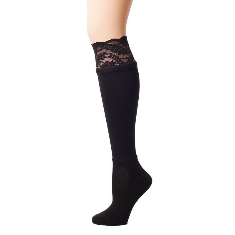Bootights Lacie Lace Darby - Jet Black