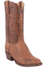 Lucchese Men's Barnwood Smooth Ostrich Boots - Hero