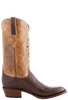 Lucchese Men's Sienna Smooth Ostrich Boots - Side
