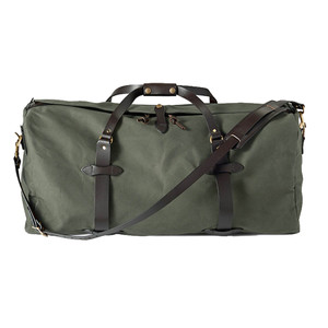 Filson Large Duffle Bag - Otter Green - Front