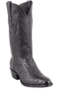 Stallion Men's Black Full-Quill Ostrich Boots - Hero