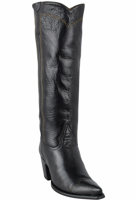 "Liberty Boot Co. Women's Black Twiggy 16"" Boots - Hero"