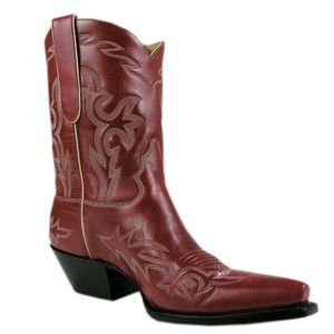 Liberty Boot Co. Women's Red Santa Fe Boots