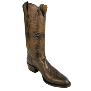 Lucchese Men's Nutmeg Pig Boots