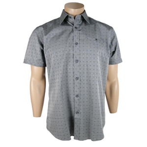 "Zagiri - Short Sleeve ""Golden Child"" Shirt - Charcoal"