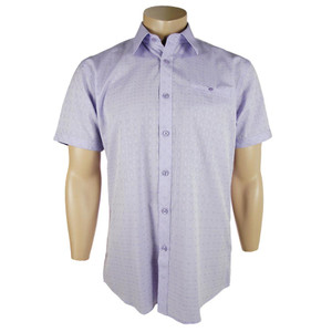 "Zagiri - Short Sleeve ""Golden Child"" Shirt - Lavender"