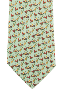 Paris Texas Apparel Co. Fiesta Tie - Green