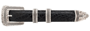 """Chacon Zia Engraved 1"""" Buckle Set"""
