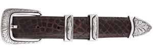 "Chacon Caliente Engraved 1"" Buckle Set"