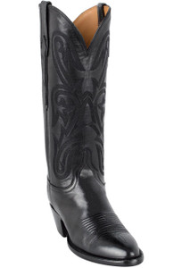 Lucchese Women's Black Ranch Hand Boots - Hero