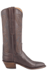 Lucchese Women's Chocolate Ranch Hand Boots - Side