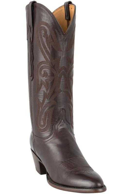 Lucchese Women's Chocolate Ranch Hand Boots - Hero